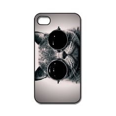 Cat With Glasses iPhone 4/ 4s /5 Case