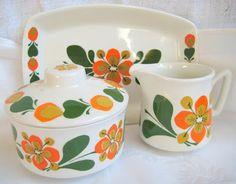 Stavangerflint - Rolf design - June Vintage Pyrex Dishes, Vintage Dishware, Ceramic Decor, Ceramic Pottery, Scandinavia Design, Vintage Housewife, Kitchenware, Tableware, Cool Mugs