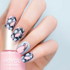 2,121 mentions J'aime, 13 commentaires – MoYou-London Official (@moyou_london) sur Instagram : «Talk the talk, walk the walk, nail the nail ✔️⠀ Want these nails? Get all the products below on…»