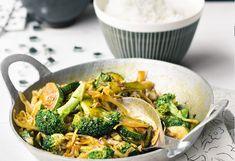 Wokgemüse mit Basmatireis