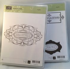 Layered Labels by Stampin Up by catscardsandcoffee on Etsy
