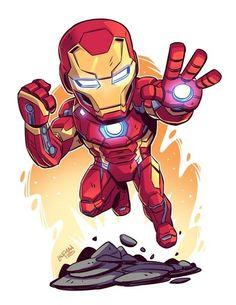 Marvel Universe Chibi Superhero, Chibi Marvel, Superhero Poster, Marvel Art, Marvel Heroes, Marvel Avengers, Chibi Spiderman, Deadpool Chibi, Batman Chibi