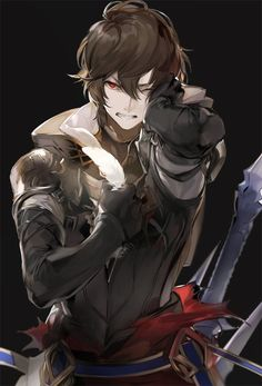 Manga Boy, Manga Anime, Anime Art, Anime People, Anime Guys, Character Concept, Character Art, Granblue Fantasy Characters, Shingeki No Bahamut
