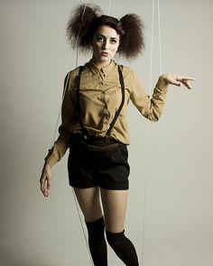 Marionette photoshoot