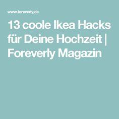 13 coole Ikea Hacks für Deine Hochzeit   Foreverly Magazin