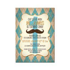 hombrecito bigote fiesta digital e impresión en casa por laneandmay, $15.00