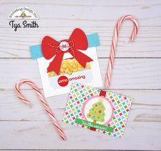 Doodlebug Design Inc Blog: Holiday Gifts : Gift Card Holders by Tya