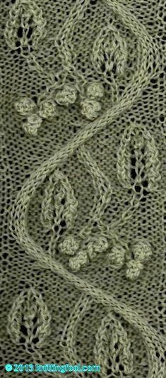 Lily Of The Valley Stitch Pattern Lovely Via There Are More Than