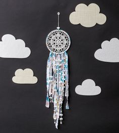 Day Dreamer Dreamcatcher from Crochet Home by Emma Lamb | Crochet designs and styling by Emma Lamb / Photography by Jason M Jenkins