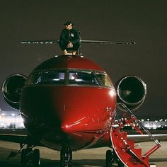 """573 Likes, 60 Comments - Private Jet Charter ✈️ (@privatejetcharter) on Instagram: """"For @lewishamilton his @bombardier_jets Challenger 605 had to be red. Tell us, what colour would…"""""""