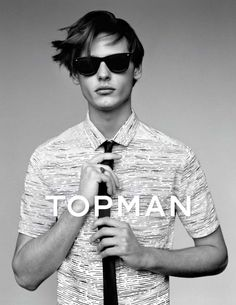 Topman Spring/Summer 2014 Campaign Featuring Jacob Morton