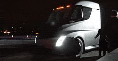 Tesla's Semi-Truck Looks Mighty Fast While Accelerating #Electric_Vehicles #Tesla