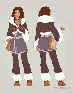 Water tribe outfit