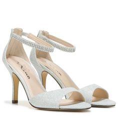 faba51f8492 Touch of Nina Women s Verilina Dress Sandal at Famous Footwear Glitter  Fabric