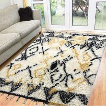 Moroccan Shaggy Rugs Online In