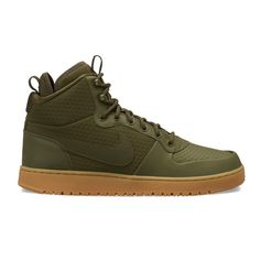 4fa1fae3004b73 These men s Nike Ebernon Mid Winter water resistant shoes set you up to  take on the elements in style.