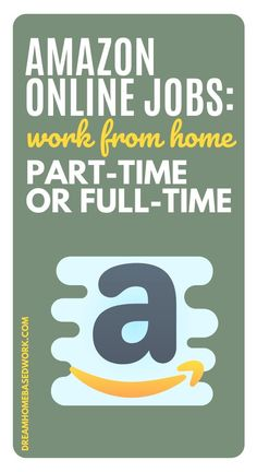 Amazon online jobs are the perfect way to earn money from home on your time with a great company. Here are the best full and part-time Amazon online jobs to choose from. #amazon #jobs #workahome Jobs From Home Legit, Legitimate Work From Home, Work From Home Tips, Earn Money From Home, Earn Money Online, How To Make Money, Amazon Online Jobs, Media Quotes, Work Quotes