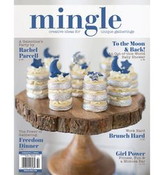 Discover creative ideas for unique gatherings for the New Year and beyond inside this exciting edition of Mingle. Subscription Gifts, Mimosa Bar, Bath And Body, Creative Ideas, Brunch, Diy Projects, Place Card Holders, Party Ideas, Moon