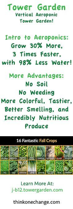 Why Every Homestead Needs A Tower Garden | Indoor gardening, Juice ...