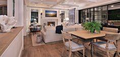 Coastal living/dining room