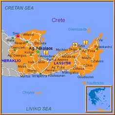Map of Sissi Greece Map, Greece Hotels, Crete Greece, Greece Travel, Greece Apartments, Greece Pictures, Travel Information, Athens