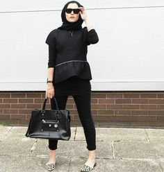 Dina Tokio Hijab Style, Hijab Chic, Modest Fashion, Hijab Fashion, Dina Tokio, Boohoo Jeans, Raw Silk Fabric, Cool Outfits, Queens