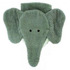 Elephant Washcloth Hand Puppet
