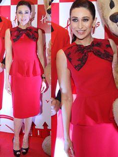 Karishma kapoor red dress
