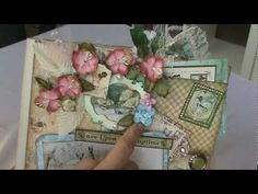 Scrapbook Mini Album:Graphic 45 Once Upon a Springtime