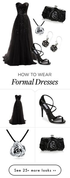 """""""formal evening"""" by blackhorses on Polyvore"""