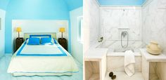 #rethink_hotels Are my flip flops under the bed or in the bath room? That will be my biggest problem when I am at  the Aigialos in Santorini for Tablet Hotels