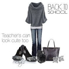 Back to School look For teachers by cindycook10