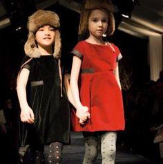 Kids Girls Princess Wool Blend Patchwork Jumper Dresses Western Fashion Baby Girl Brand Design Pocket Short Sleeve Party Dress