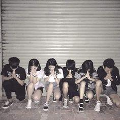 Jaehui, Erin, Maddie, Ning, Shin-ae & Oh-seong Mode Ulzzang, Korean Ulzzang, Ulzzang Boy, Korean Couple, Korean Girl, Asian Girl, Ulzzang Fashion, Korean Fashion, Korean Best Friends