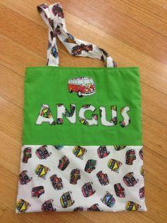 Kombi library bag for Angus