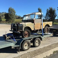 "Land Rover Series One Early morning pick up! 1954 86""  inch"