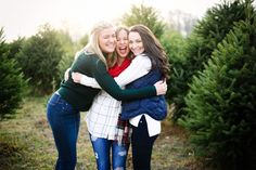 Christmas Tree Farm - Carly the Prepster - Holiday Farm Senior Pictures, Winter Senior Pictures, Farm Pictures, Christmas Photo Cards, Christmas Pictures, Holiday Cards, Christmas Tree Farm, Winter Christmas, Cute Sister