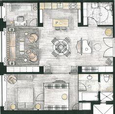 Floor Plan, Soho Loft