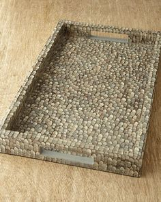 { NM EXCLUSIVE Pebbled Shell Tray }