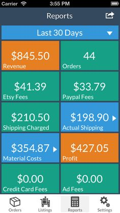 CraftTaskManager - iPhone/iPad app for tracking orders by frosty074 on Etsy