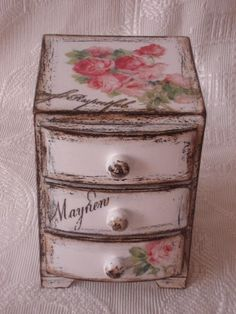 shabby chic mini dresser