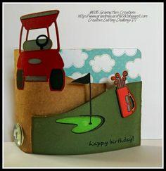 Birthday--DT SVG Golf Set