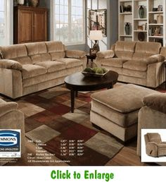 Maui Camel Sofa By United At Furniture Warehouse | The $399 Sofa Store |  Nashville,