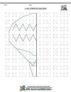 printable-geometry-worksheets-1-line-symmetry-balloon.gif 790×1,022 pixels
