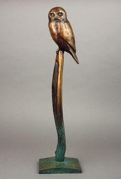 configuration for owl scupture Ceramic Animals, Ceramic Art, Bronze Sculpture, Sculpture Art, Georgia, Owl Art, Animal Sculptures, Art World, Pet Birds