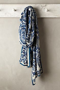 Mariacarla Embroidered Scarf - anthropologie.com