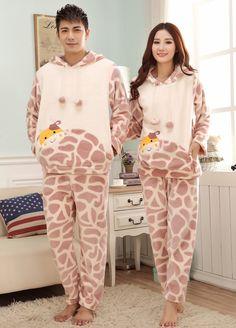 Flannel Couple Winter Pajama Set