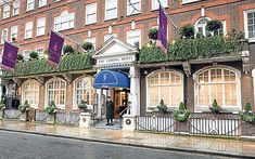 """The Goring"" in London where my honey and I stayed back in September ."
