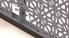 DSD has developed a Laser Cut DSD Fix System our multi-purpose framing system can be configured for most applications giving the screens strength and style