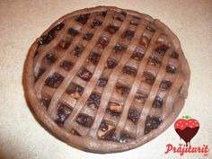 Tartă cu mere și ciocolată, foarte aromată. Food Online, Order Food, Cupcake, Bacon, Pie, Lunch, Candy, Drink, Cooking